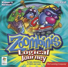 ZOOMBINIS LOGICAL JOURNEY  Epic Adventure of Math and Logic   XP Vista 7 8   NEW