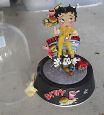 Franklin Mint Betty Boop Diner Waitress Sculpture Dome Prototype