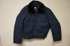Policeman's Coat / Jacket Cold Weather With Padded Liner Size 36 Short (A865)