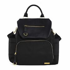 Skip Hop Chelsea Downtown Chic Diaper Backpack ~~ Black ~~ Brand New !!!!