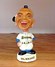 Chief Nok-A-Homa 1961 Milwaukee Braves White Base Mascot Mini Bobblehead Nodder