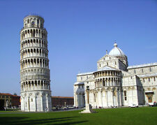 Italy LEANING TOWER OF PISA Glossy 8x10 Photo Print Wall Art Poster Tuscany