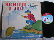 The Fisherman and the Flounder-Three Blind Mice/Lncoln 539/Pic Sleeve/E to E+/kk