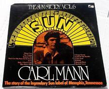 Carl Mann  The Sun Story Vol. 6  1977  Sunnyvale 9330-906  Rockabilly  Vinyl  NM