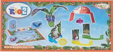 Kompletter Satz Spielzeug RIO 2 (Dschungelfieber) Kinder Joy + alle BPZ