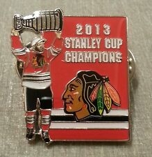 2013 STANLEY CUP CHAMPIONS NHL CHICAGO BLACKHAWKS Lapel Pin LE