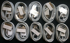 10x 1M Original 30-Pin To USB Charge Sync Cable Charger for Apple iPhone 3G 4 4s