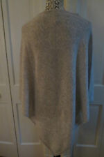 Lovely Beryll Large Cashmere Poncho – Grey – One Size – NWT- $550