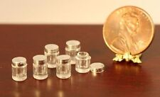 Dollhouse Miniature 1:12 Scale Small Baby Jars w/Lid by Farrow Industries