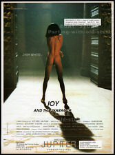 JOY AND THE PHAROAHS__Original 1993 Trade AD_poster_screening promo__ZARA WHITES