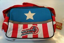 MARVEL COMICS AVENGERS CAPTAIN AMERICA COSTUME MESSENGER BAG