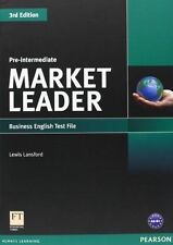 Market Leader, Pre-Intermediate: Business English Test File College Paperback