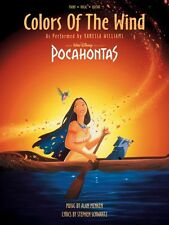 Colors of the Wind Sheet Music From Disney's Pocahontas Piano Vocal Va 000351428
