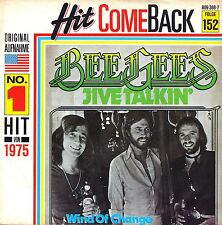 "7"" Bee Gees – Jive Talkin' / Hit Come Back // Germany"