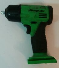 "Snap On CT4410 Cordless 14.4V Impact 3/8"" Green - Bare Tool - Used - FREE SHIP"