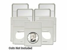 BCW - Display Slab with Foam Insert-Combo, Half Dollar White, 5 pack