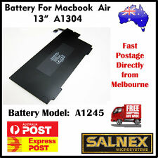 "Premium Battery A1245 for Apple MacBook Air 13"" A1304  A1237 Models laptop"
