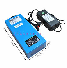 48V 10Ah  Li-ion LI-Battery Rechargeable Battery Pack Electric Bicycle /W Charge