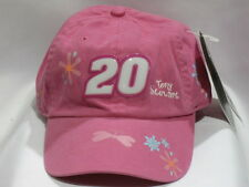 Tony Stewart #20 Pink Girls Youth Hat by Chase Authentics NASCAR New With Tags
