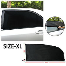 2PCs Universal Car Windshield SunShade Window Curtain Car Sun Visor Protector XL