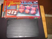 Miracle Thaw Defrosting Tray-As Seen on TV