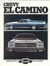 1974 Chevrolet EL Camino Sales Brochure Classic/SS+++