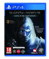 Middle-Earth: Shadow of Mordor GOTY (PS4)