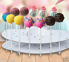 Cake Pop Decoration Stand Lollipop Decorating Cardboard Holder Display 44pcs New