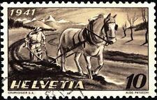 SWITZERLAND - SVIZZERA - 1941 - Propaganda per l'agricoltura