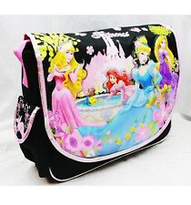 Disney Princess Large Messenger Bag Diaper Tote Bag- Belle, Aurora, Ariel, Etc