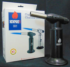 "Newport Zero Gas Butane 8"" Cigar/ Kitchen/ Chef Torch Lighter Multi Use NBT021"