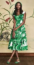 DOLCE & GABBANA $1995 Banana Leaf Dress BNWT SZ 42-SOLD OUT- Last one!