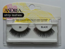 (LOT OF 10) Andrea Modlash #33 False Eyelashes Fake Lashes Eyelash Lash Black