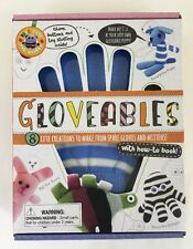 Gloveables DIY Craft Kit Gloves 8 Cute Creations How To Book Puppy