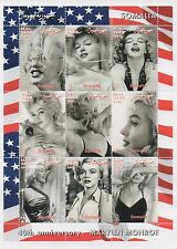 MARILYN MONROE HOLLYWOOD MOVIE LEGEND SOMALIA 2002 MNH STAMP SHEETLET