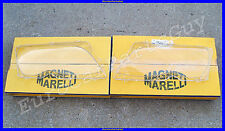 OEM Magneti Marelli BMW e46 Left & Right Headlight Lens Plastic Cover Set NEW