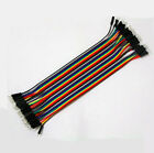 Male To Male 1p-1p 30cm Jumper Ribbon Wire Dupont Cable Kabel Arduino 40Stk.