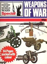 WEAPONS of WAR .. Purnell's History of the World Wars Special . 1973