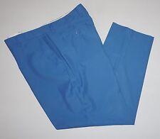 Alan Flusser Golf - Sky Blue Trouser Pants 42 x 32