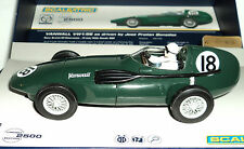 SCALEXTRIC C3404A VANWALL VW1/56 SILVERSTONE 1956  LIMITED EDITION 1/32 SLOT CAR