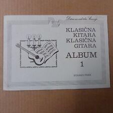guitar STANKO PEK Klasicna kitara, Album 1