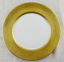 "Pickard Heinrich & Co Gold Encrusted Boders Dinner Plate (10 3/4"")"