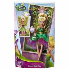 "Disney Fairies 9"" Deluxe Fashion Twist Tink Doll *BRAND NEW*"