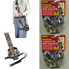 2 NEW ALLEN COMPOUND BOW HOLSTERS,ARCHERY BELT HOLDER,CAMO HOLSTER,2403