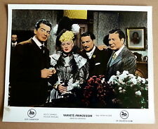VICTOR MATURE, BETTY GRABLE * VARIETÉ-PRINZESSIN - EA-AHF #3/8 German L C 1952
