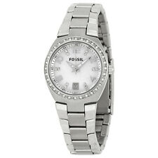 Fossil Glitz Mother of Pearl Ladies Watch AM4141