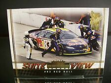 Rare Brian Vickers #83 Red Bull Press Pass VIP 2007 Card #57 SUITE VIEW