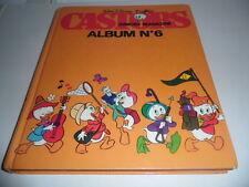 CASTORS JUNIORS MAGAZINE - ALBUM N° 6 - WALT DISNEY
