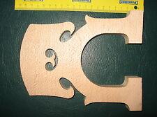 3/4 4/4 Kontrabass Steg  Ahorn  Stegrohling  Bass-Steg16  -19 cm Belgisches Mod.