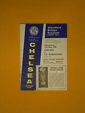 Inter Cities Fairs Cup Semi-Final - Chelsea v C.F. Barcelona - 11th May 1966